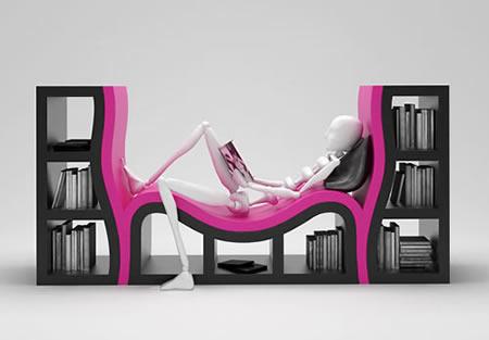 クリエイティブを刺激する おしゃれな本棚